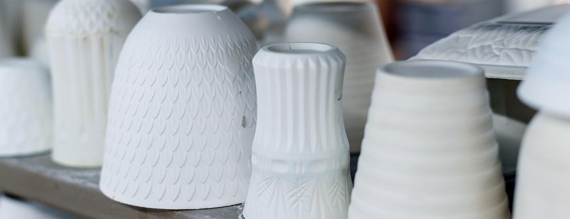手加工による石膏原型の作製